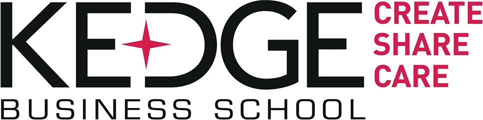 Logo de la Kedge Business School, Partenariat Vigeo Eiris