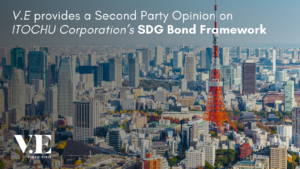 V.E provides SPO for ITOCHU SDGs Bond Framework